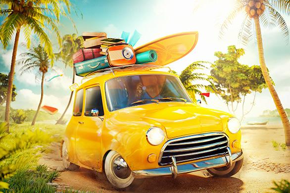 Urlaub Auto
