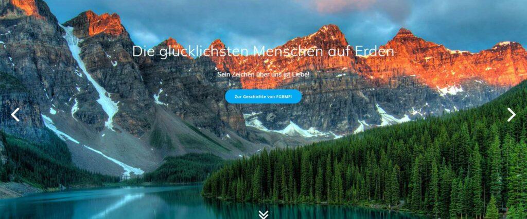 Screenshot Website FGBMFI